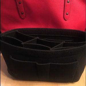 Handbags - Purse tote Large black insert Protector Organizer